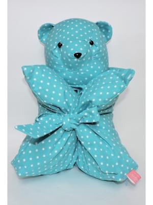 Декоративна подушка Mammi. Цвет: голубой