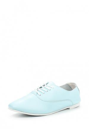 Ботинки Zenden Comfort. Цвет: голубой