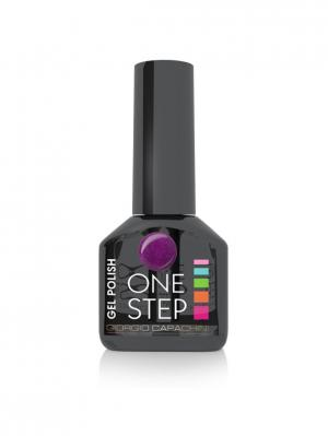 Однофазный гель-лак One Step №24, 6 мл GIORGIO CAPACHINI. Цвет: темно-фиолетовый