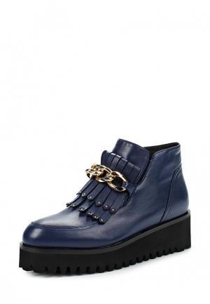 Ботинки Gold Key. Цвет: синий