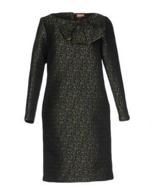 Короткое платье MACRÍ. Цвет: темно-зеленый
