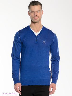 Пуловер Japan Rags. Цвет: синий