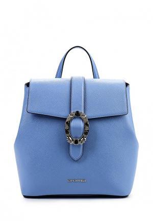 Рюкзак Cromia. Цвет: голубой