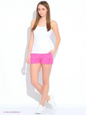 Шорты U.S. Polo Assn.. Цвет: розовый