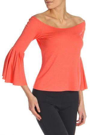 Блуза BGN. Цвет: coral