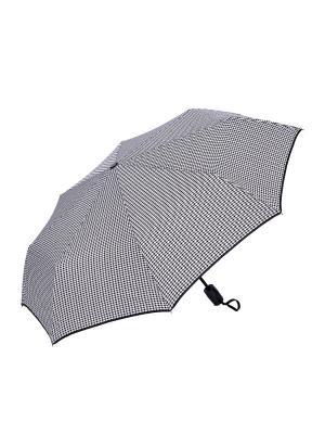 Зонт складной NUAGES. Цвет: белый, черный