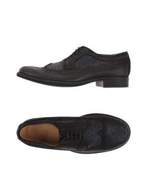 Обувь на шнурках 01000010 BY BOCCACCINI. Цвет: стальной серый