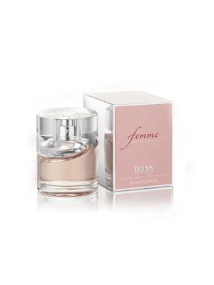 Парфюмерная вода Boss Femme, 50 мл HUGO. Цвет: розовый (осн.)