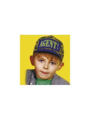 Кепка для мальчика DEMBOHOUSE. Цвет: синий, зеленый