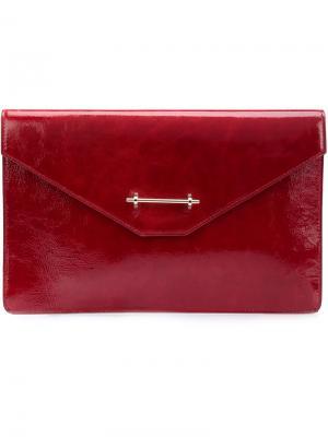 Клатч Envelope M2malletier. Цвет: красный