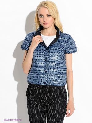 Куртка Henry Cotton's. Цвет: голубой