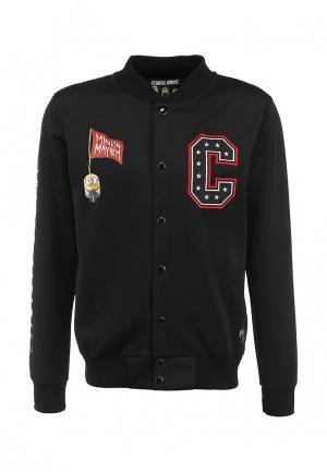 Куртка Criminal Damage. Цвет: черный