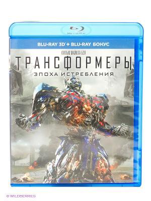 Фильм Трансформеры: Эпоха истребления 3D НД плэй. Цвет: синий, серый, красный
