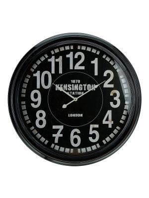 Часы настенные Mitya Veselkov. Цвет: черный, белый