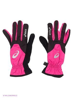 Перчатки WINTER GLOVE ASICS. Цвет: розовый