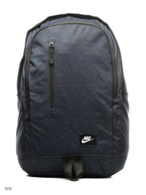 Рюкзак NIKE ALL ACCESS SOLEDAY - PRIN. Цвет: темно-синий, белый, черный