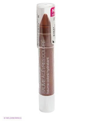 Блеск-бальзам для губ mega slick balm stain, тон caffeine fix Wet n Wild. Цвет: коричневый