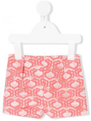 Классические шорты Hucklebones London. Цвет: розовый и фиолетовый