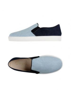 Низкие кеды и кроссовки GEORGE J. LOVE. Цвет: синий