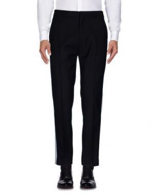 Повседневные брюки HARMONY Paris. Цвет: черный