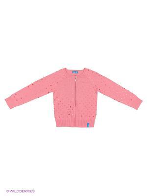 Кардиган Button Blue. Цвет: розовый