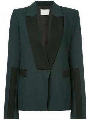 Куртка с поясом Dion Lee. Цвет: зелёный