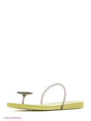 Пантолеты Ipanema. Цвет: салатовый