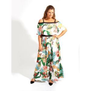Платье KOKO BY. Цвет: набивной рисунок