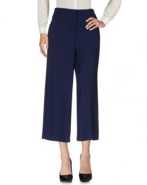 Повседневные брюки OTTOD'AME. Цвет: синий