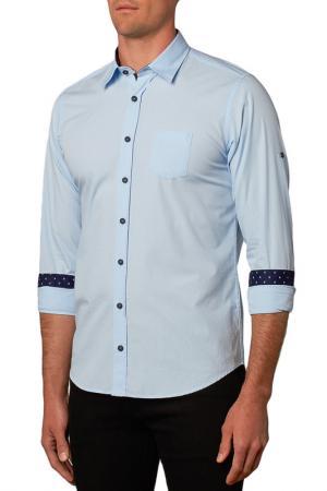 Рубашка Gabano. Цвет: синий