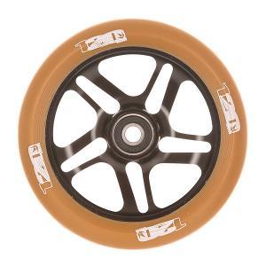 Колесо для самоката  120 Mm Wheels Black/Gum Blunt. Цвет: черный,коричневый