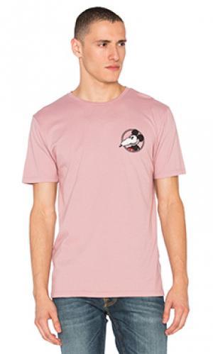 Классическая футболка mickey rat Altru. Цвет: сиреневый