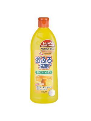 Funs  Rookie средство для чистки ванны и туалета с ароматом апельсина 500 мл. Цвет: оранжевый