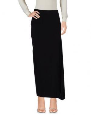 Длинная юбка DEMOO PARKCHOONMOO. Цвет: черный