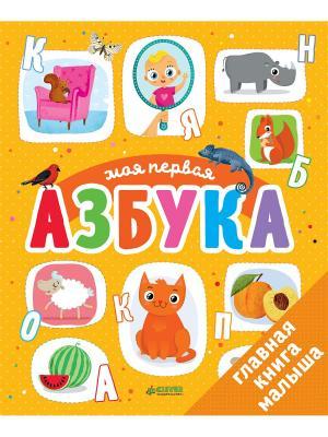 Первые книжки малыша. Моя первая азбука Издательство CLEVER. Цвет: белый