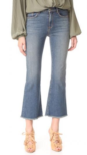 Расклешенные джинсы до щиколоток Emmylou Siwy. Цвет: одинокое сердце