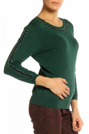 Блуза Elisa Fanti. Цвет: зеленый