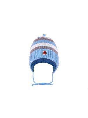 Шапка детская ESLI. Цвет: голубой