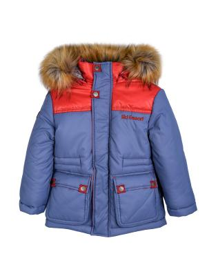 Куртка Bell bimbo. Цвет: серо-голубой
