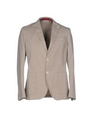 Пиджак MANUEL RITZ. Цвет: бежевый