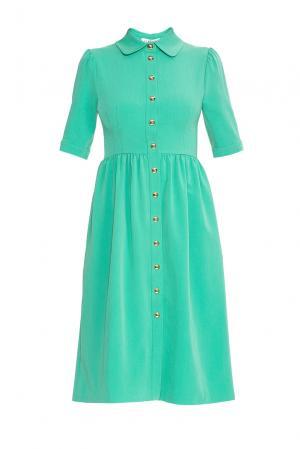 Flashin Платье из вискозы 176559 Flashin'. Цвет: зеленый