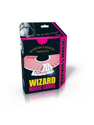 Набор фокусов Волшебные карты от Marvins Magic. Цвет: желтый, красный, розовый