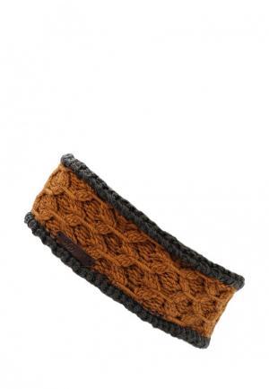 Повязка Noryalli. Цвет: коричневый