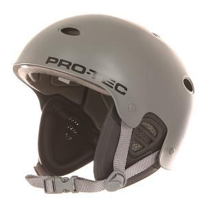 Шлем для скейтборда  B2 Wake Satin Gray Pro-Tec. Цвет: черный