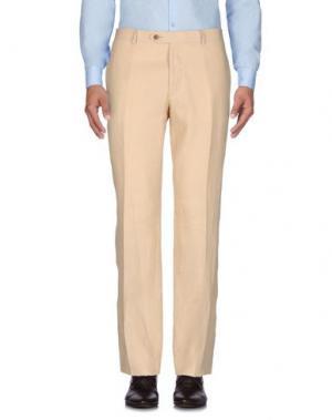 Повседневные брюки MILA SCHÖN. Цвет: бежевый