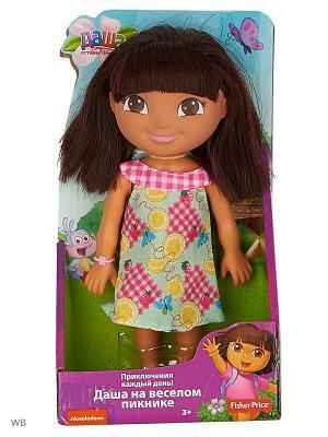 Даша-путешественница  Кукла День рождения Даши Mattel. Цвет: желтый