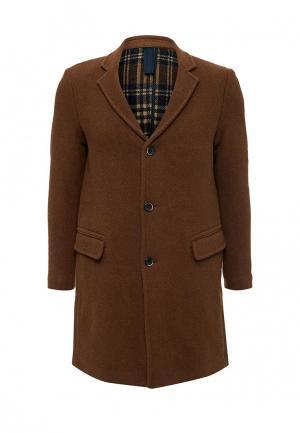 Пальто Sisley. Цвет: коричневый