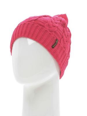 Шапка Vittorio Richi. Цвет: розовый