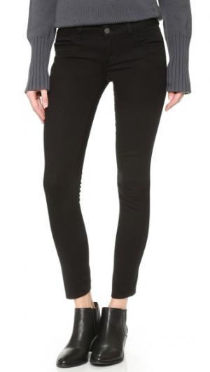 Узкие укороченные джинсы Hannah Siwy. Цвет: голубой