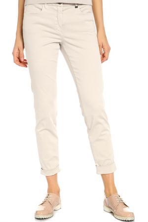 Укороченные брюки Luisa Cerano. Цвет: светло-серый